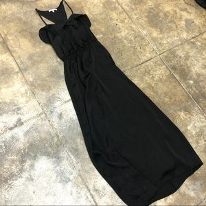 Collective Concepts Long Maxi Dress Straps Ruffle